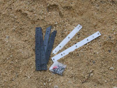 Anbausatz Entreq - Sandblechhalterung für LR Defender
