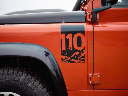 Aufkleber 110 Land Rover Defender