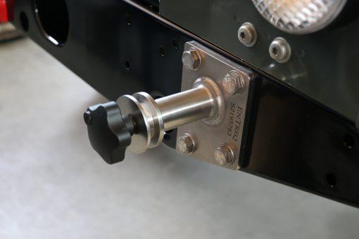 Hecktraversenhalterung fuer Hi-Lift Land Rover Defender
