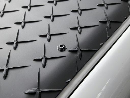 Kotfluegel Riffelblech Land Rover Defender