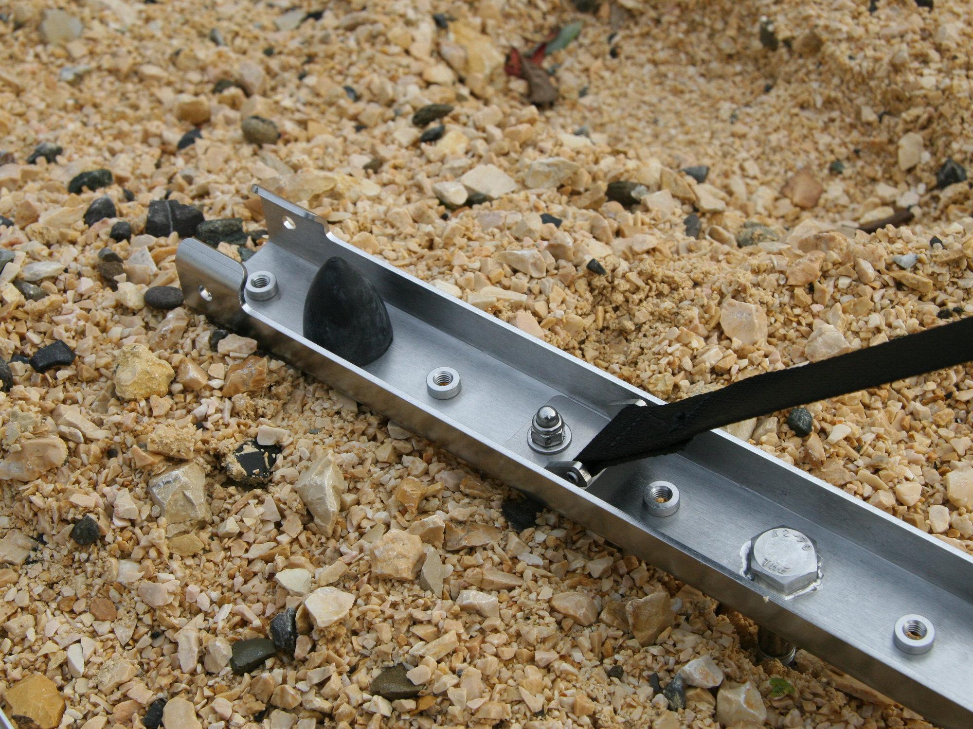 Sandblechhalterung klappbar Edelstahl.003