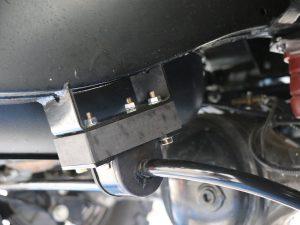 Distanzstuecke für hinteren Stabilisator Land Rover Defender