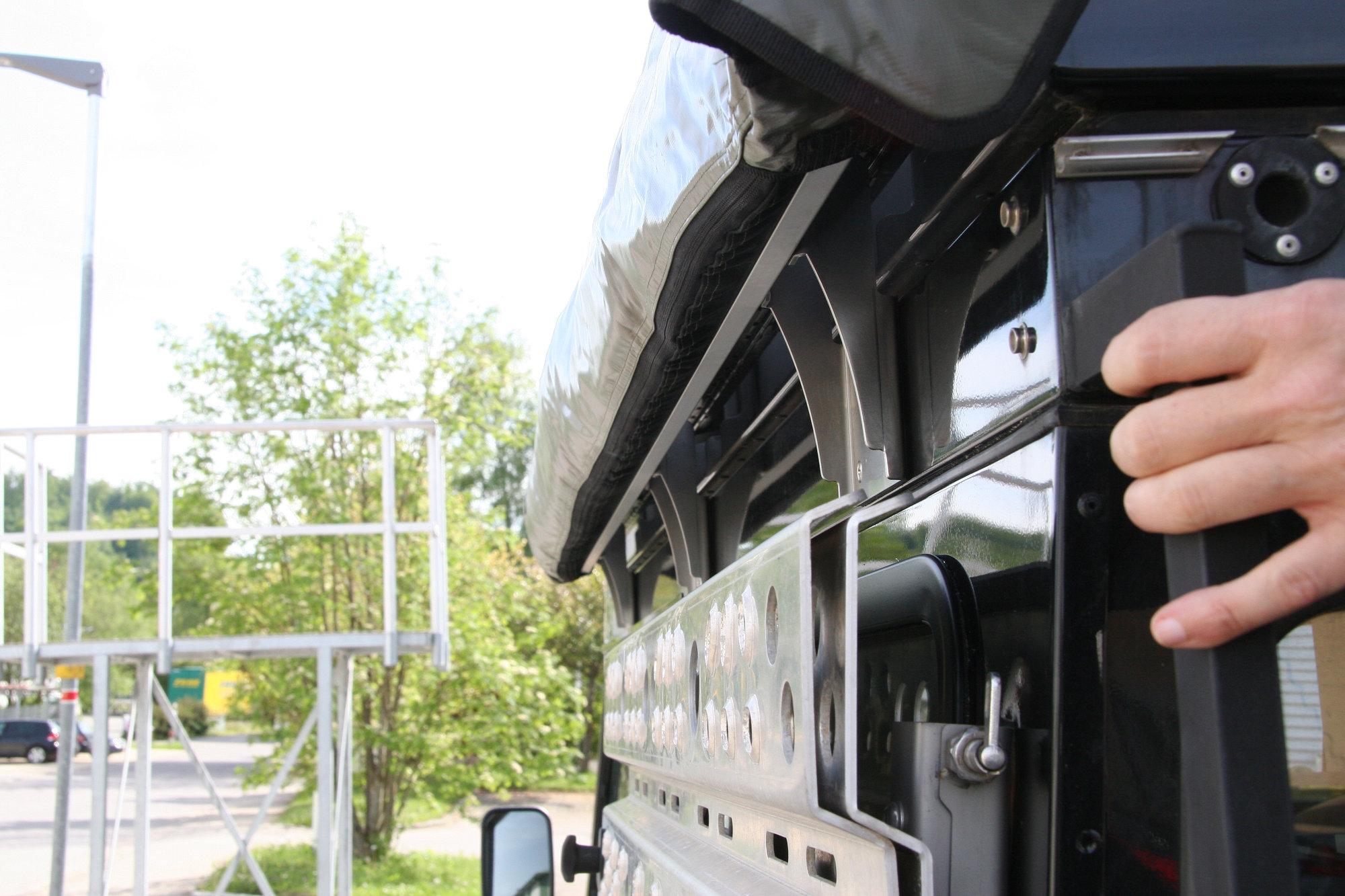 Halterungssatz für Foxwing-Markise Land Rover Defender.000