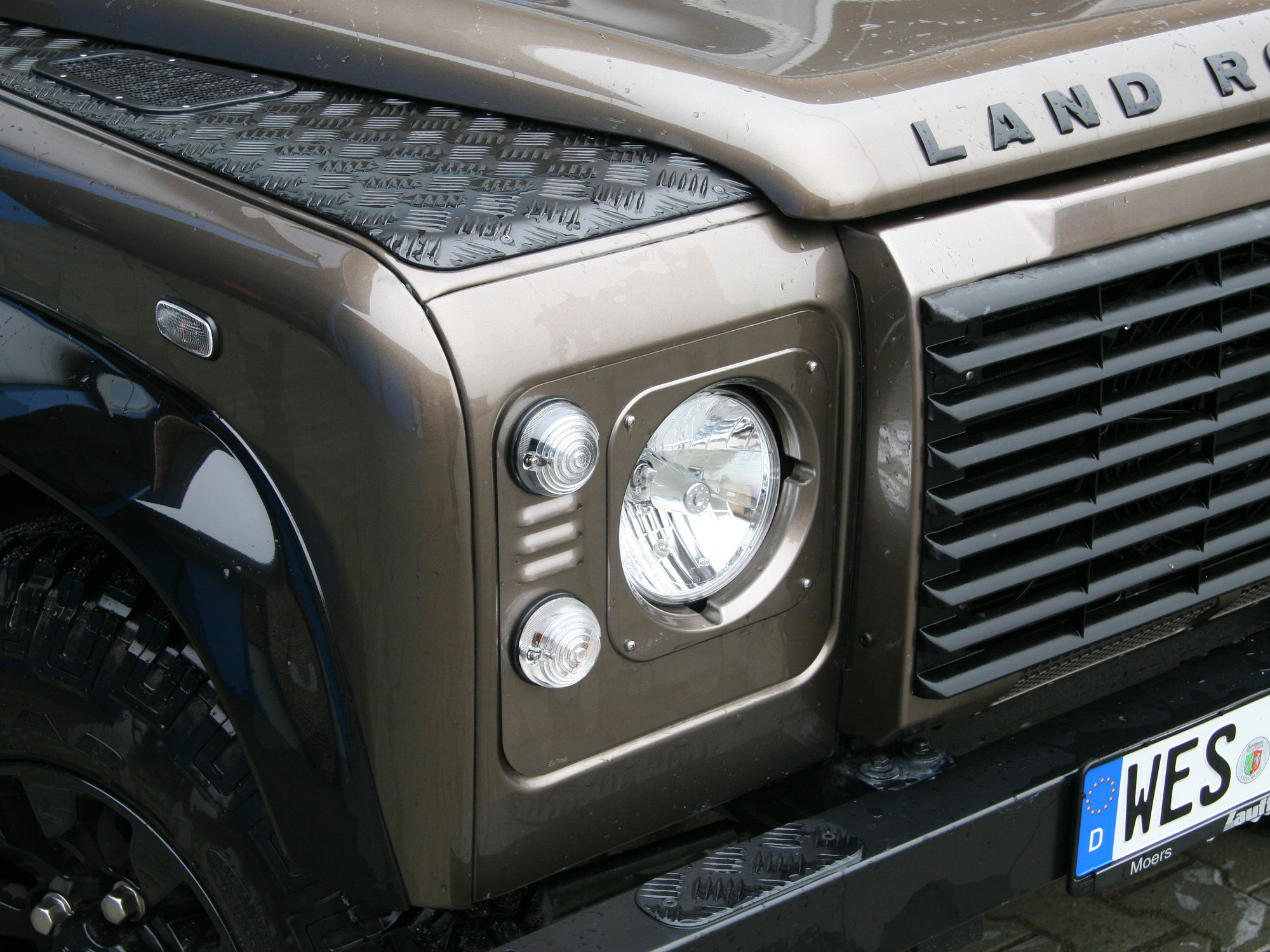 Scheinwerferzierblenden Land Rover Defender.003