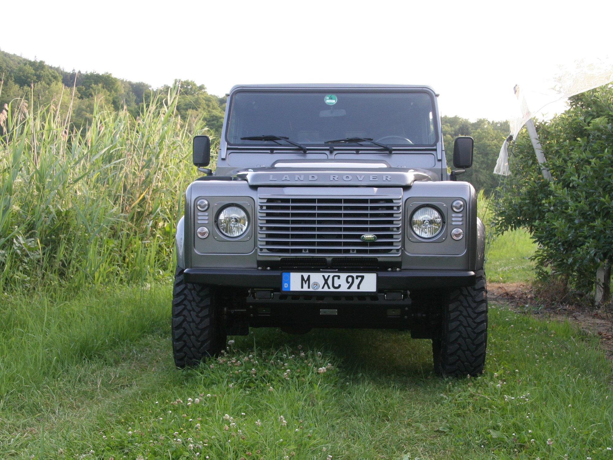 Scheinwerferzierblenden Land Rover Defender