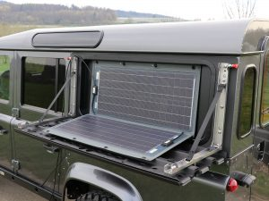 Sunware RX-Solarpanel für Land Rover Defender