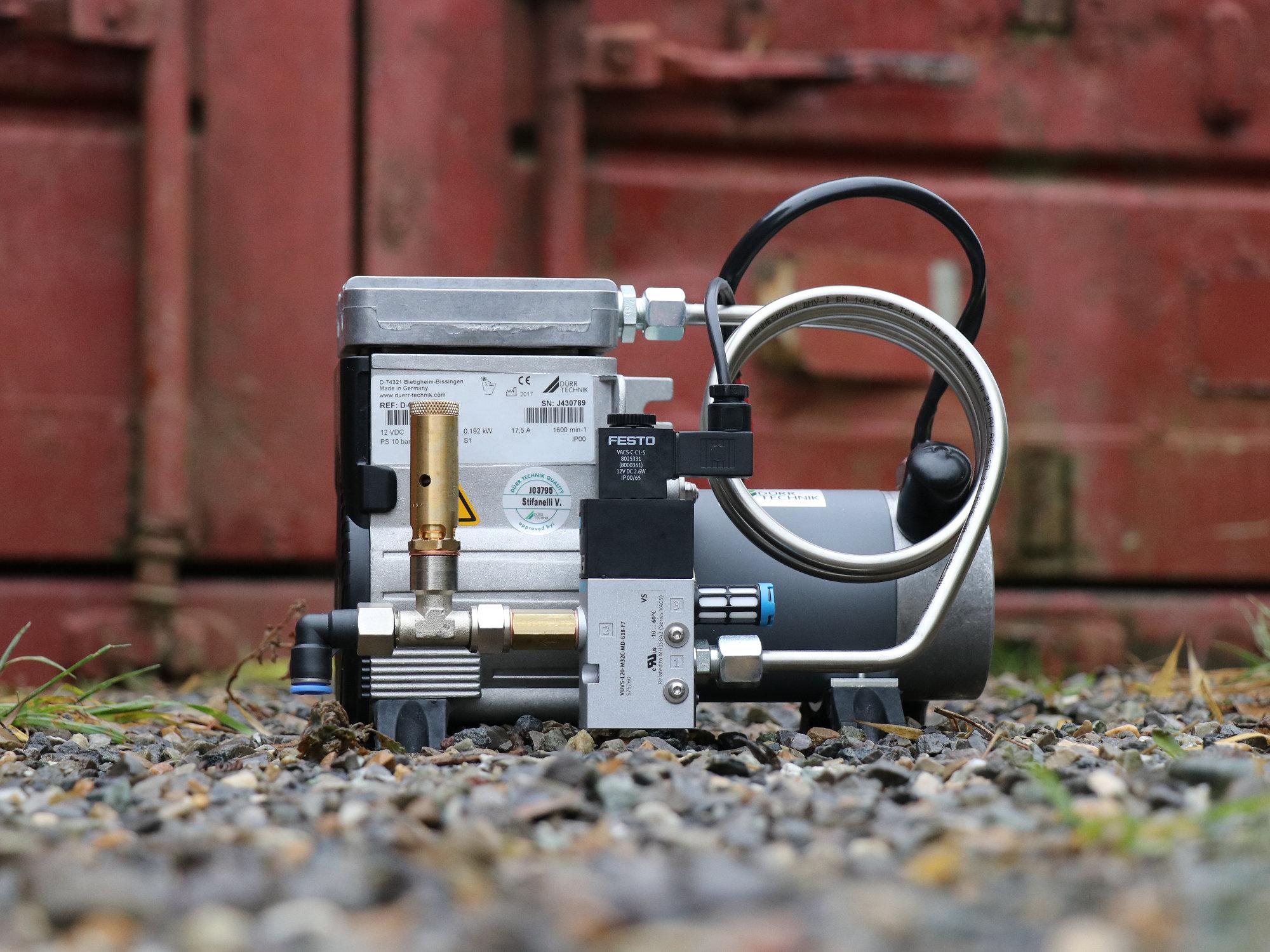 Druckluftkompressor Land Rover Defender