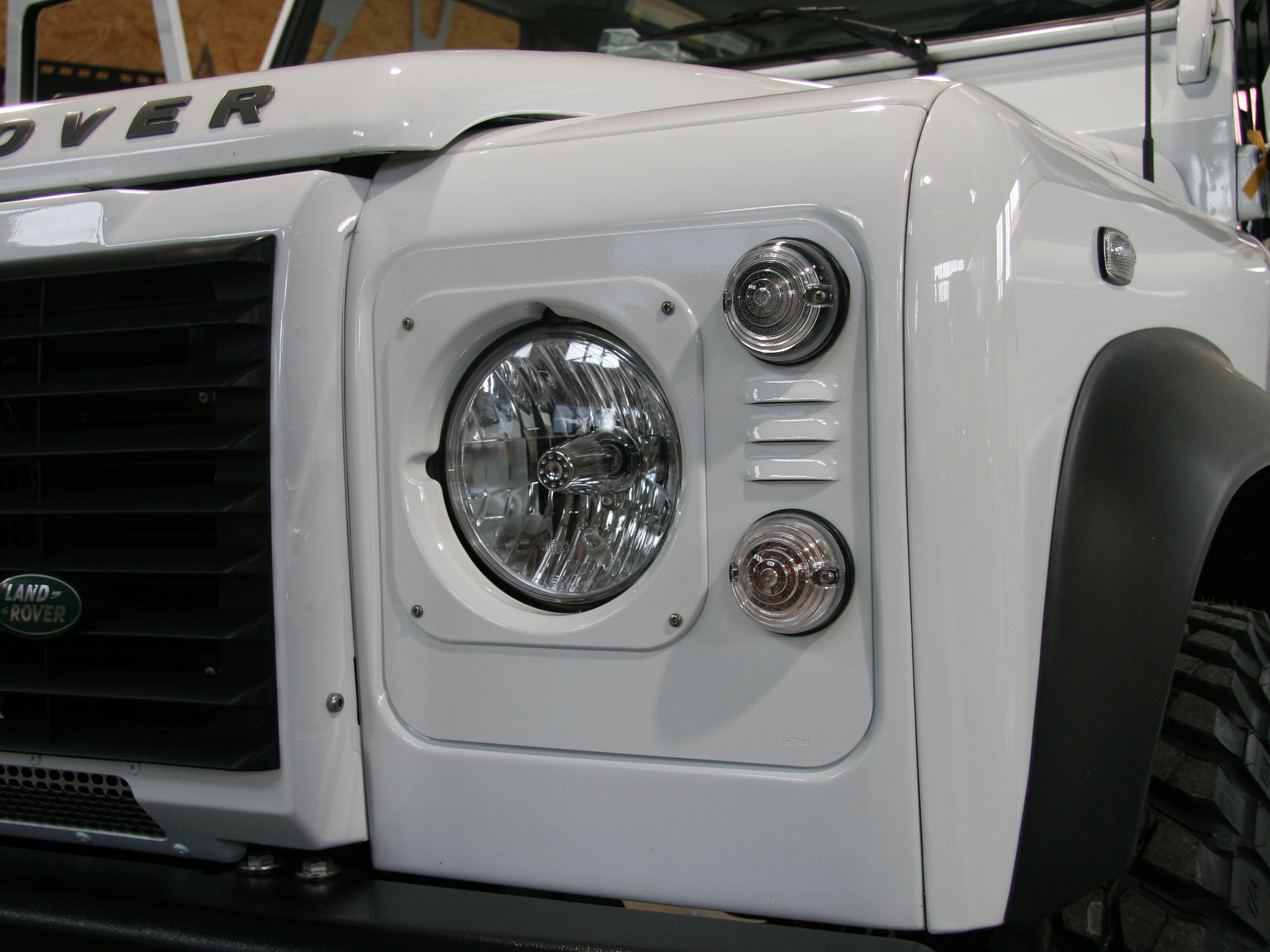 Klarglasscheinwerfer Land Rover Defender.000