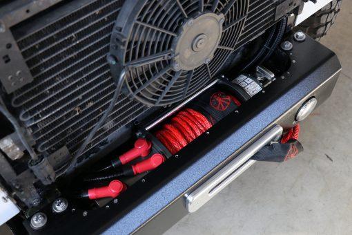 Seilwindenstossstange Land Rover Defender