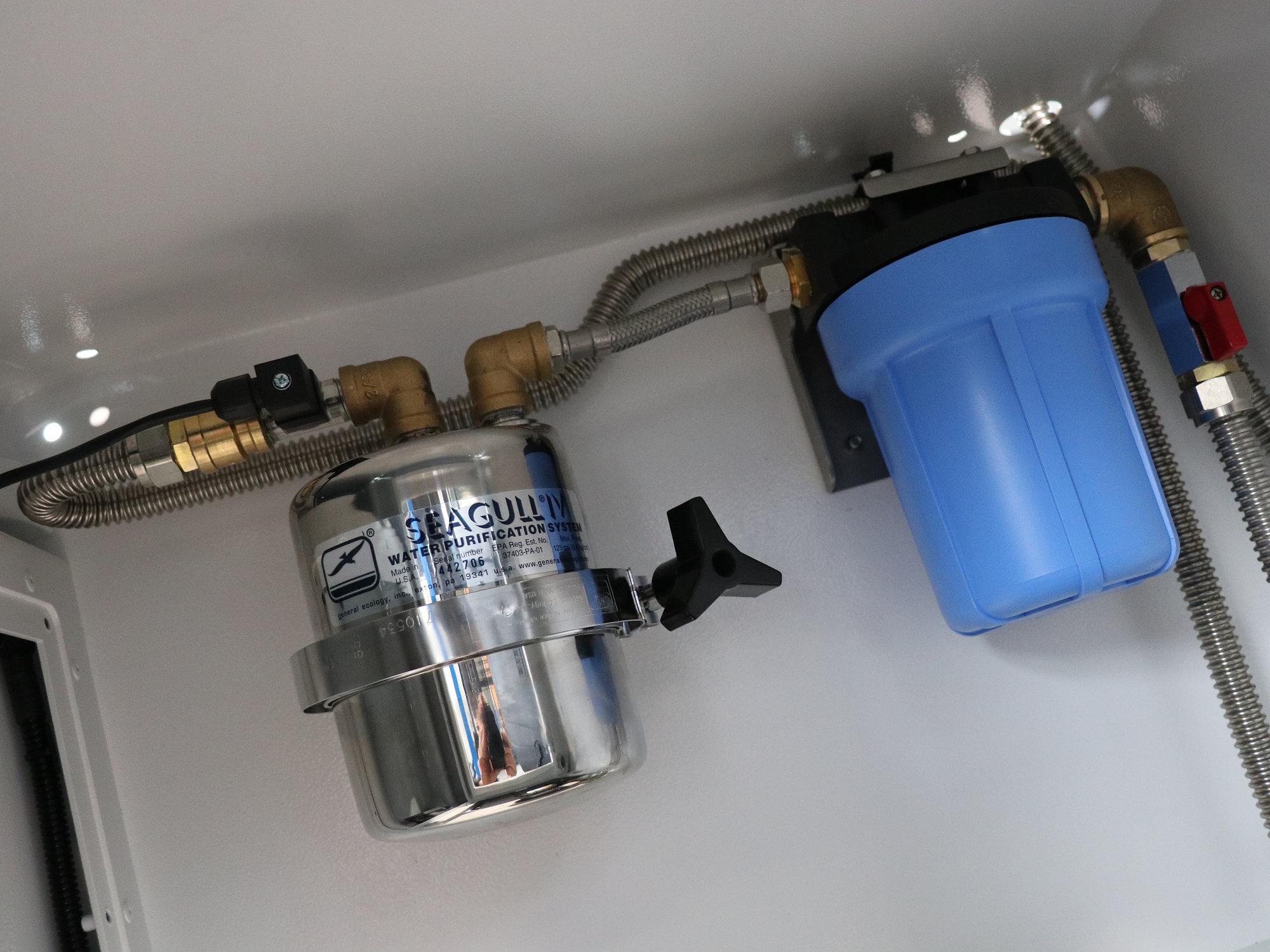 Trinkwasser im Land Rover Defender
