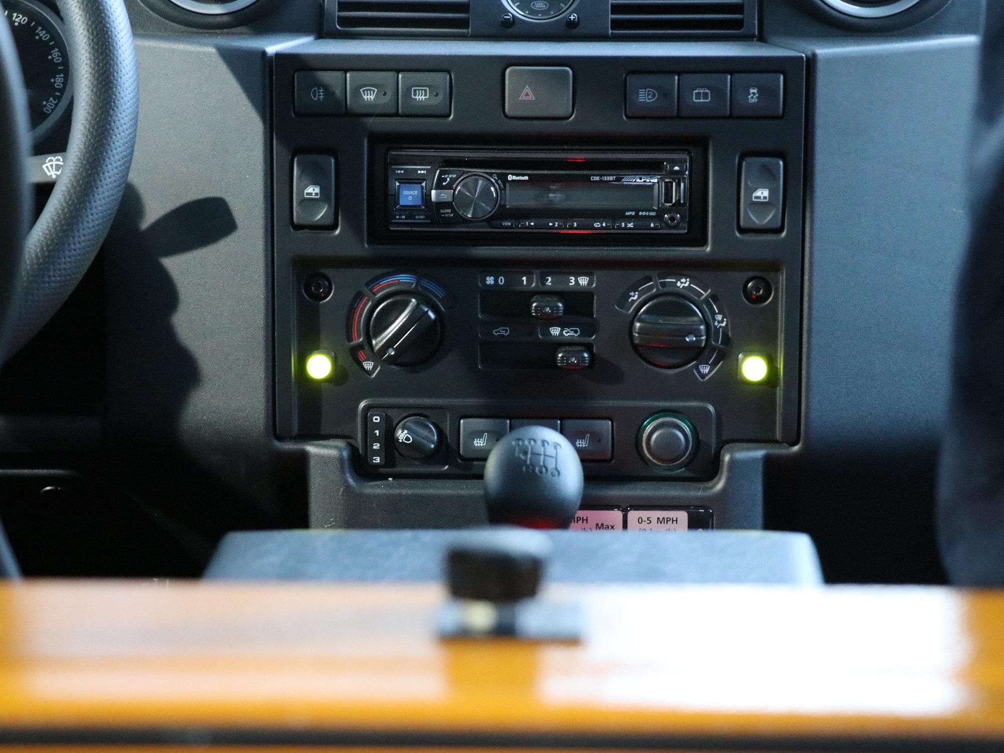 Zuheizfunktion Land Rover Defender