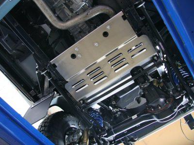 Schutzplatte für Kraftstoffkuehler Land Rover Defender