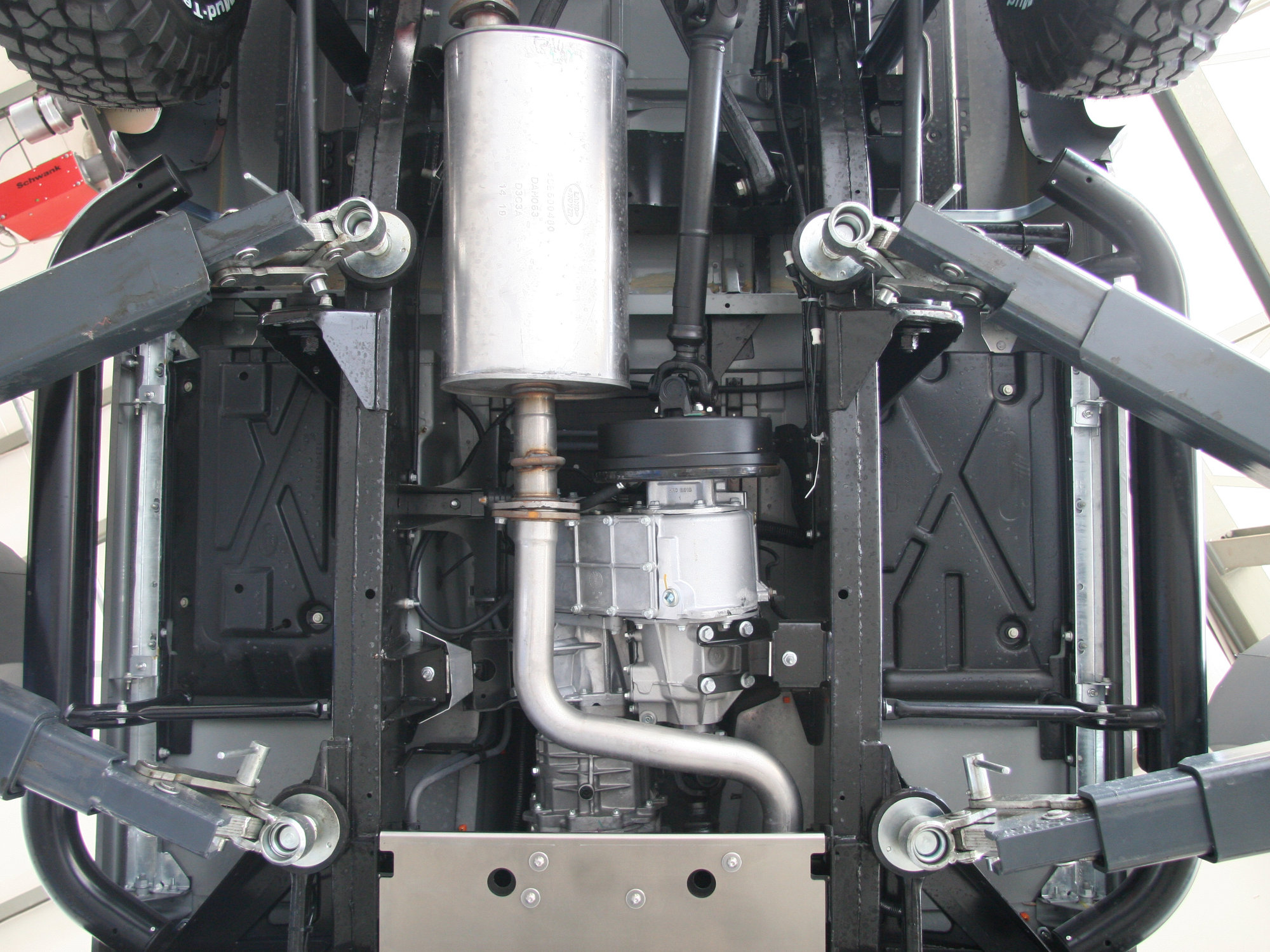 Technikcheck Land Rover Defender