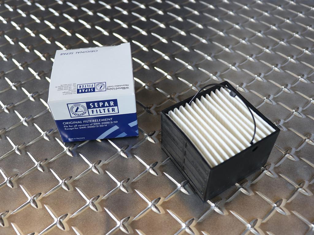 Filterelement SEPAR