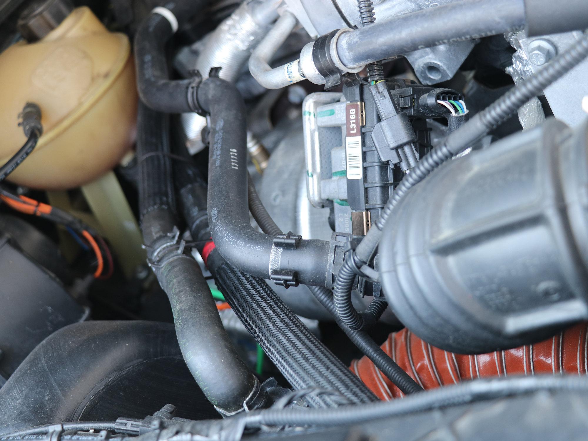 Webasto Wasserstandheizung im Land Rover Defender