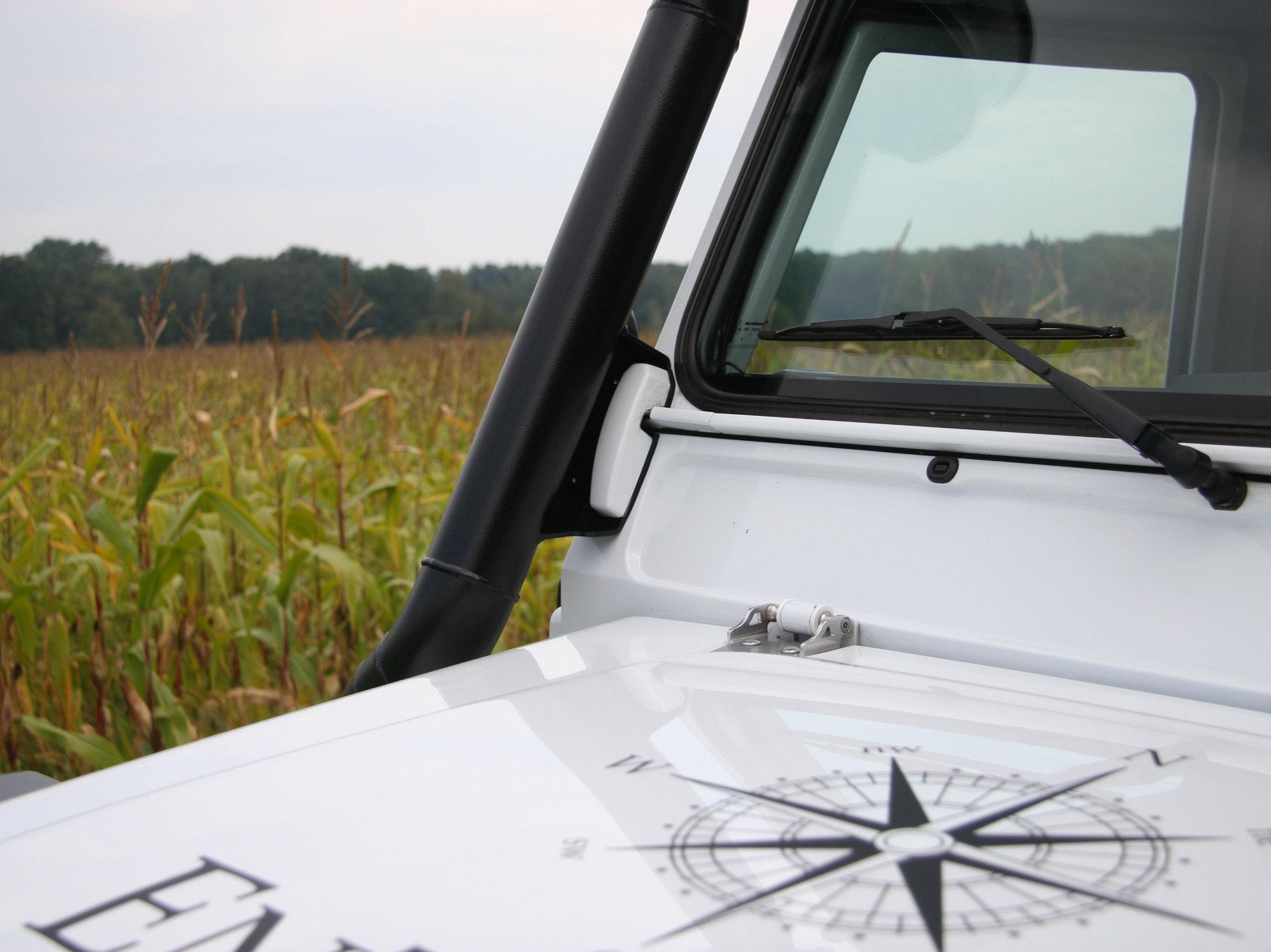 erhöhte Luftansaugung Schnorchel Land Rover Defender.000