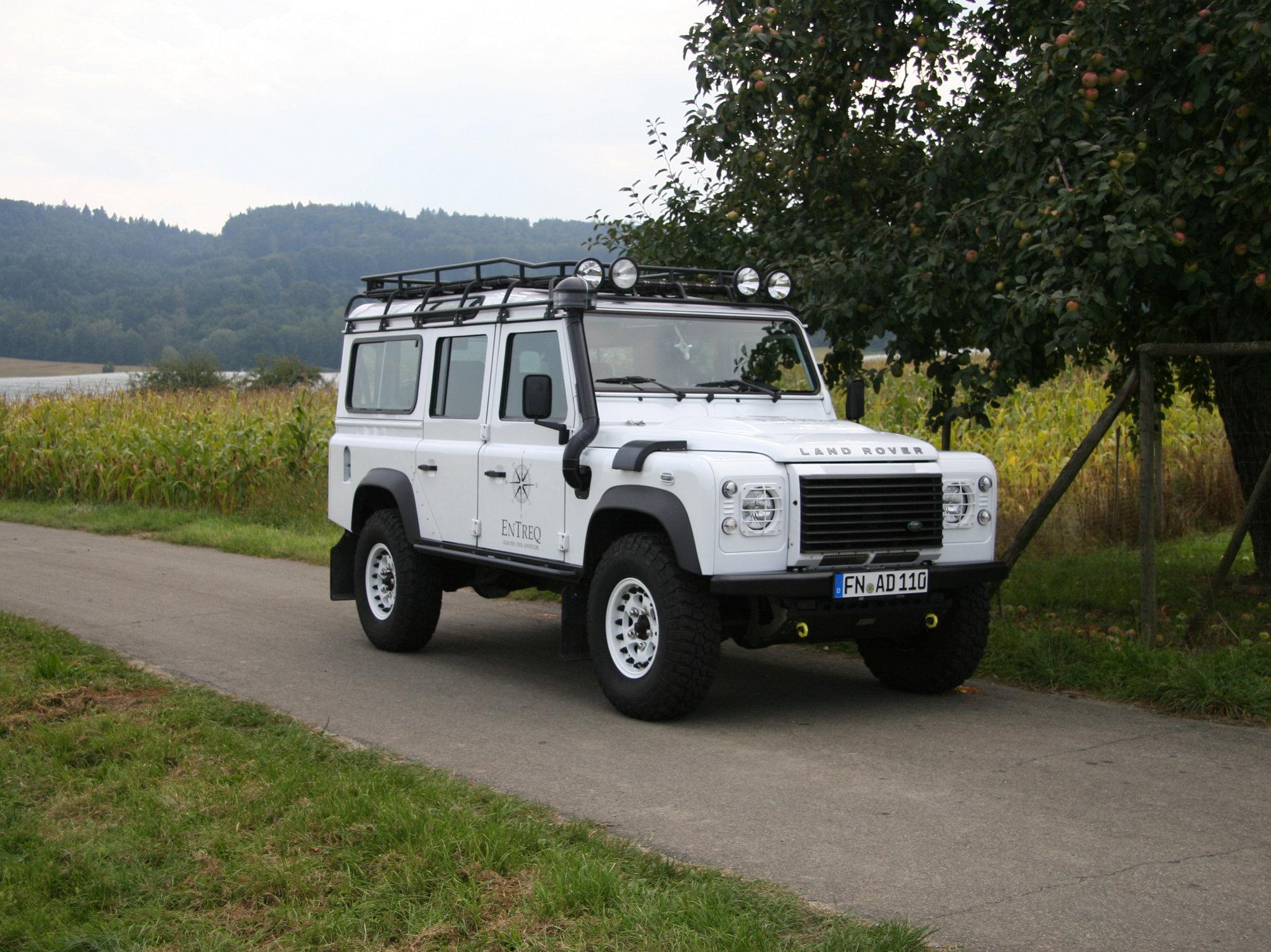 erhöhte Luftansaugung Schnorchel Land Rover Defender.001