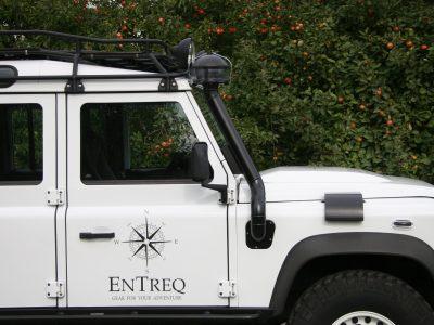 erhoehte Luftansaugung Schnorchel Land Rover Defender