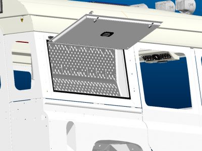 RESERVE-BOX Staubox Land Rover Defender