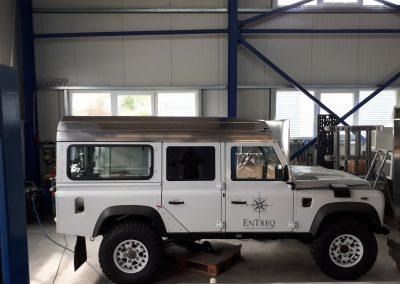 Land Rover Defender Hubdach Aufstelldach