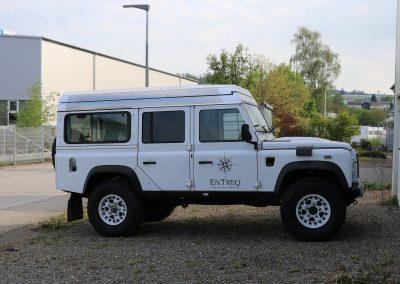 Aufstelldach Hubdach Land Rover Defender