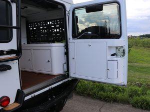 Hecktuer Kuechenbord Land Rover Defender