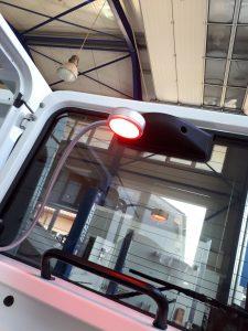 Hecktuertisch Land Rover Defender