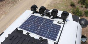 Sunware Solarpanel Land Rover Defender