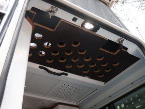 Liegeflaechenerweiterung Aufstelldach Land Rover Defender