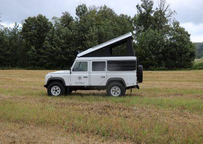 Aufstelldach Hubdach Klappdach Land Rover Defender