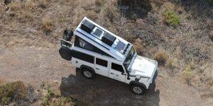 Aufstelldach Klappdach Hubdach Land Rover Defender