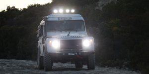 Beleuchtung Zusatzscheinwerfer Land Rover Defender