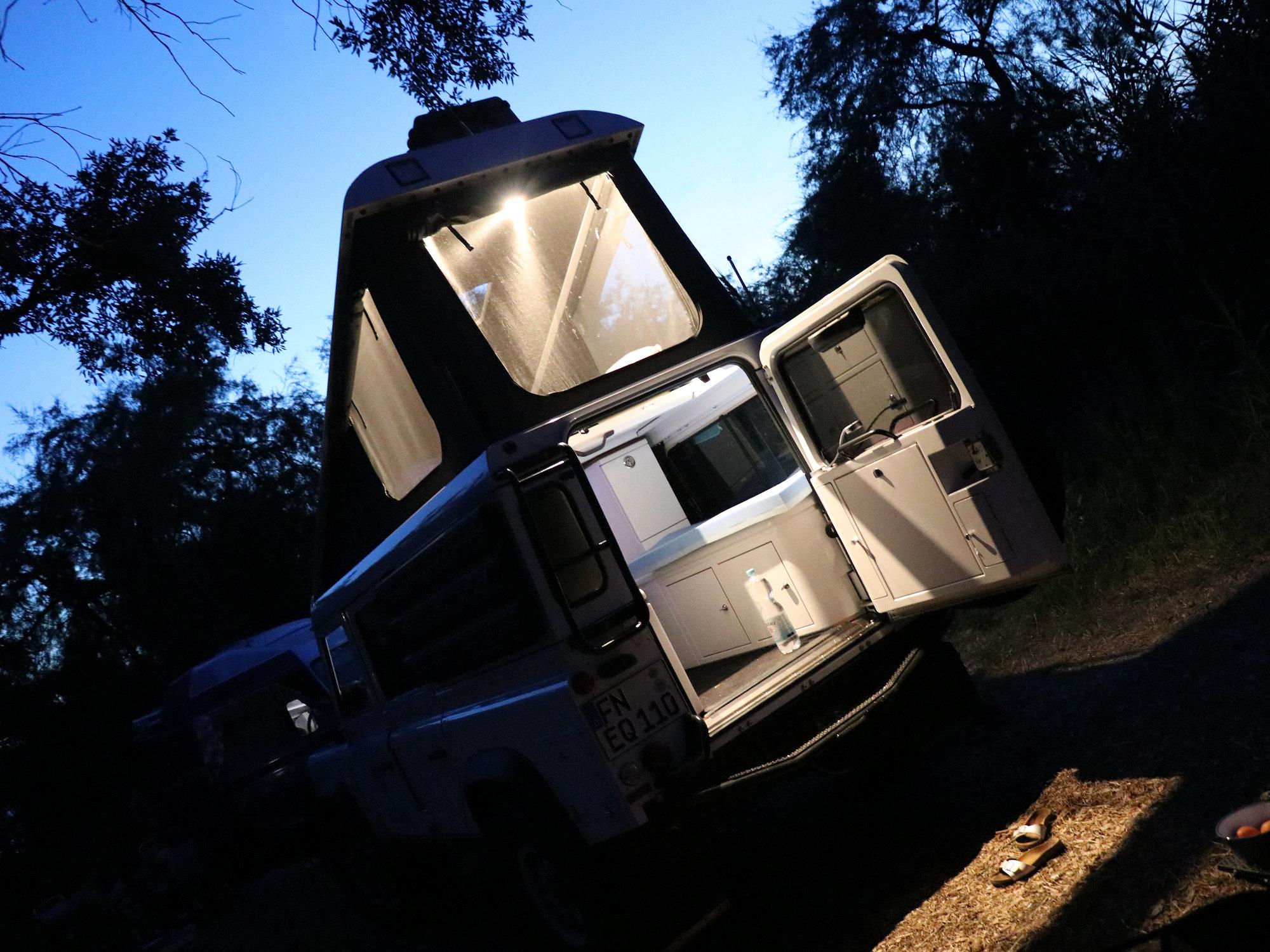 Prebit Innenraumleuchten Land Rover Defender