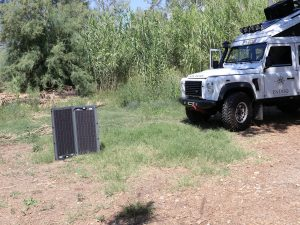 Solarenergie Land Rover Defender