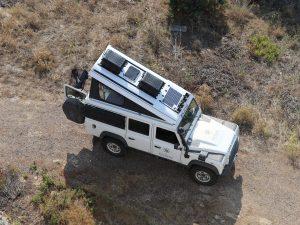 Solarpanel Land Rover Defender
