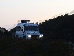 Zusatzscheinwerfer Land Rover Defender