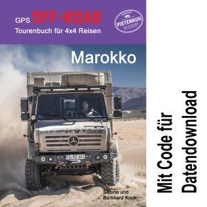 GPS Off-Road Tourenbuch Marokko