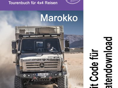 GPS Off-Road Tourenbuch Marokko