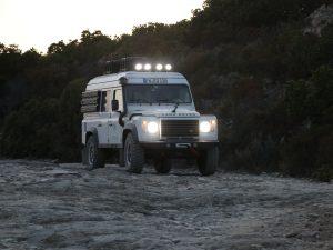 Beleuchtung Zusatztscheinwerfer Land Rover Defender