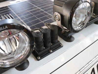 Dachdurchfuehrung Zusatzscheinwerfer