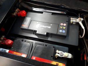 Doppelbatteriesystem Land Rover Defender