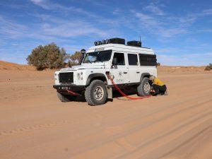 Druckluft Land Rover Defender