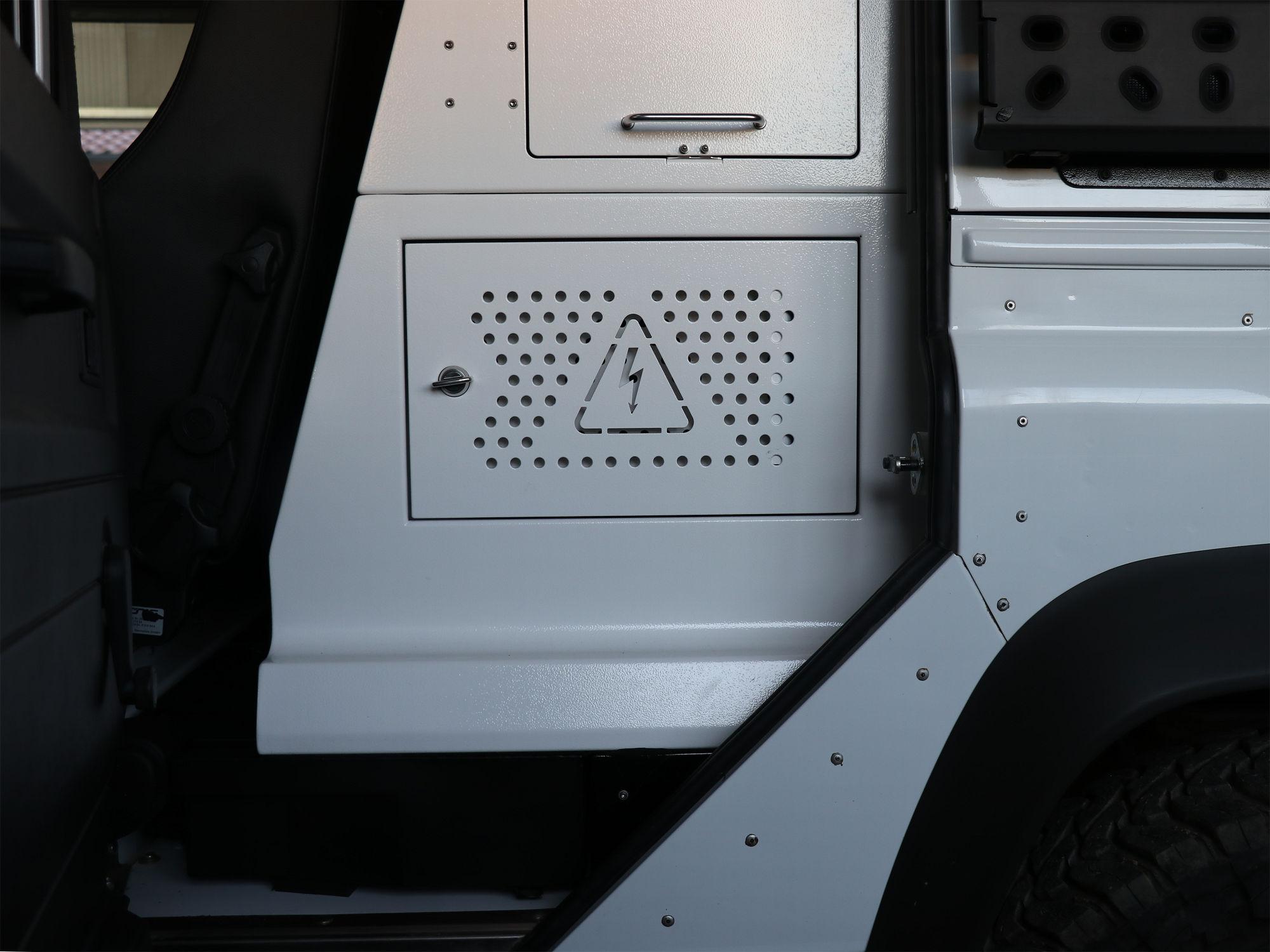 Innenausbau Land Rover Defender