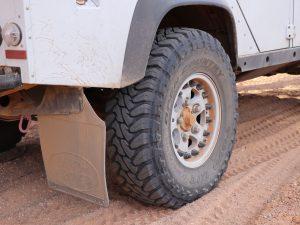 Raeder und Bereifung Land Rover Defender