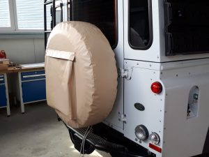 Reserveradhuelle Land Rover Defender spare wheel cover