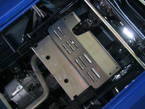 Schutzplatte Kraftstoffkuehler Land Rover Defender